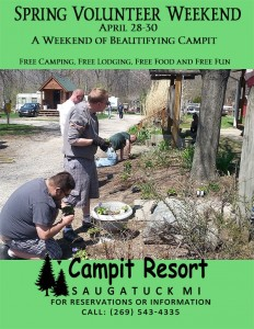 Spring Volunteer Weekend
