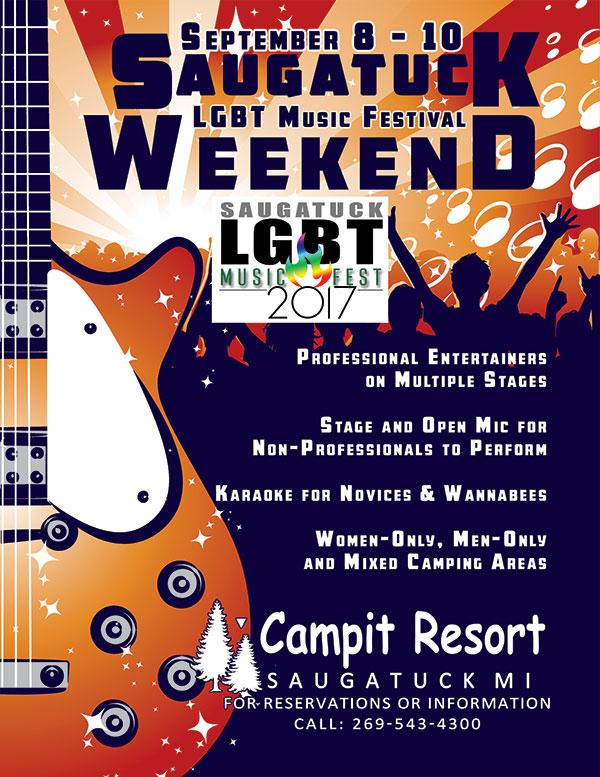 Saugatuck LGBT Music Festival Weekend